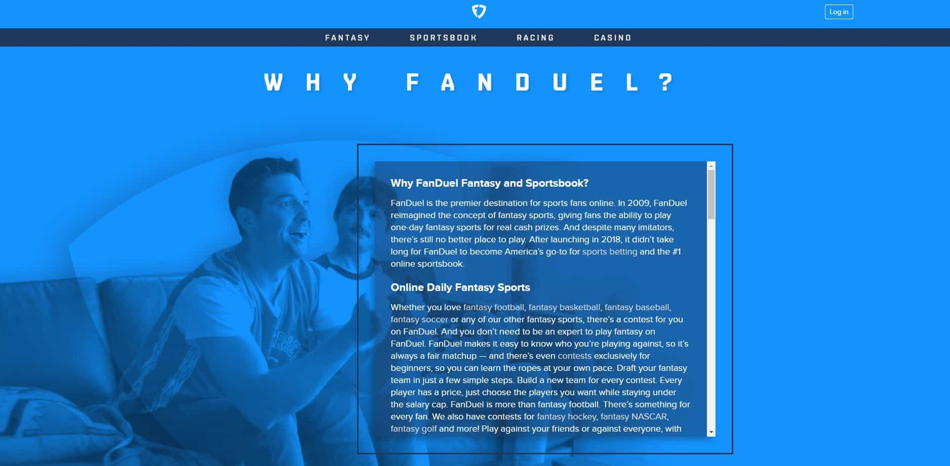 FanDuel why-min